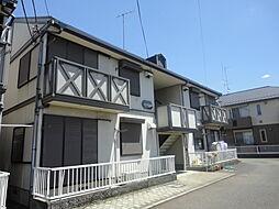 埼玉県さいたま市見沼区大字中川の賃貸アパートの外観