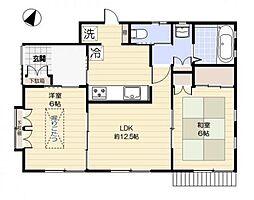 大田区東雪谷4丁目住宅[1階]の間取り