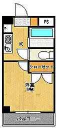 サンライズ津田沼II[101号室]の間取り