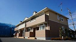 栃木県宇都宮市ゆいの杜3丁目の賃貸アパートの外観
