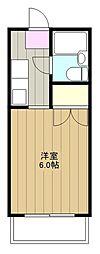 神奈川県海老名市東柏ケ谷5の賃貸マンションの間取り