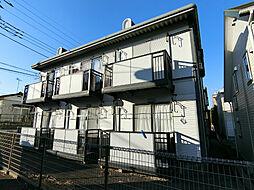 栃木県宇都宮市石井町の賃貸アパートの外観