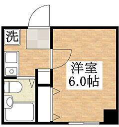 プレアール平野本町[2階]の間取り