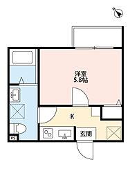 LAVITA検見川(ラヴィータケミガワ)[1階]の間取り
