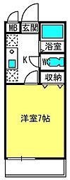 アトーレ浅間町マンション[301号室]の間取り