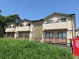 愛知県豊橋市東高田町の賃貸アパートの外観