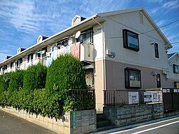 東京都練馬区高松5丁目の賃貸アパートの外観
