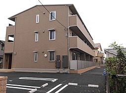 埼玉県草加市両新田西町の賃貸アパートの外観