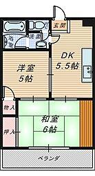 大浜TKハイツ[4階]の間取り