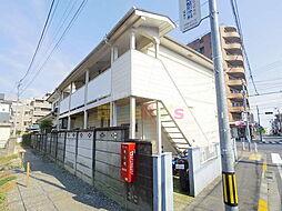 東京都昭島市朝日町1の賃貸アパートの外観