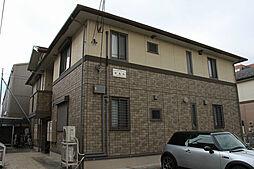 神奈川県大和市深見西8丁目の賃貸アパートの外観