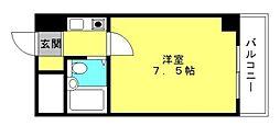 アクアコート[3F号室]の間取り
