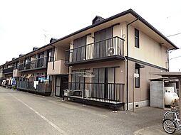 東京都八王子市大楽寺町の賃貸アパートの外観