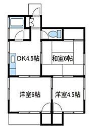 [一戸建] 神奈川県厚木市温水西1丁目 の賃貸【/】の間取り
