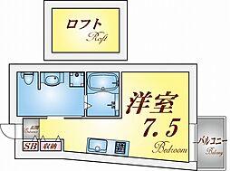 ジュリア須磨浦1[2階]の間取り