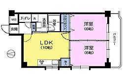 ハイメゾン高松[3階]の間取り