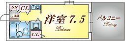 AQUA鈴蘭台II[1階]の間取り