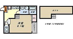 ソラーレ新金岡[1階]の間取り