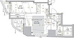 東京都千代田区神田司町2丁目の賃貸マンションの間取り