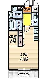 DiasII[9階]の間取り