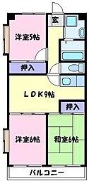 702泉ヶ丘[2階]の間取り