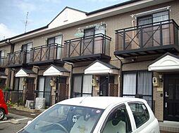 愛知県岡崎市東大友町の賃貸アパートの外観