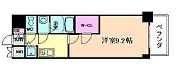 プレサンス江戸堀[14階]の間取り