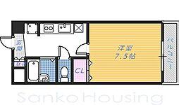 HIYORI Ⅱ[3階]の間取り