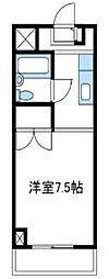 神奈川県厚木市泉町の賃貸マンションの間取り