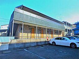 東京都八王子市堀之内3の賃貸アパートの外観