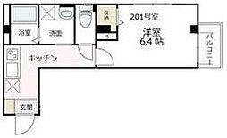 神奈川県鎌倉市大船3丁目の賃貸マンションの間取り