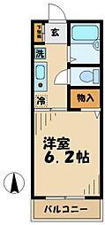 フェアリーテイル2[2階]の間取り
