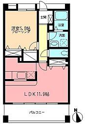 Three-B[3階]の間取り