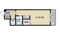 パシフィック新大阪[5階]の間取り
