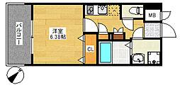 サヴォイ ジ・アトリウム[9階]の間取り