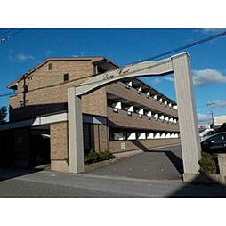 愛知県岡崎市大和町字西島の賃貸マンションの外観