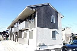 滋賀県長浜市川崎町の賃貸アパートの外観