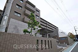 大阪府吹田市千里山虹が丘の賃貸マンションの外観