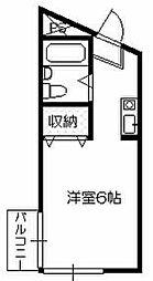 レジデンス川寺[3階]の間取り