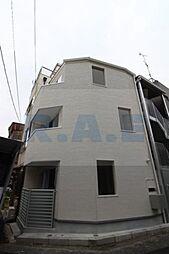 大阪府大阪市生野区生野西4丁目の賃貸アパートの外観