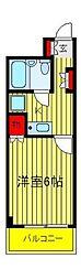 SKヴィラ2[3階]の間取り