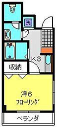 TAハウス[304号室]の間取り