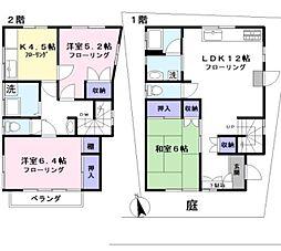 [一戸建] 東京都三鷹市新川4丁目 の賃貸【/】の間取り