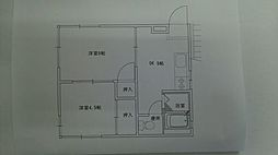 稲永アパート[201号室]の間取り