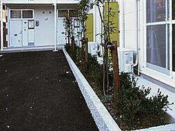 愛知県岡崎市柿田町の賃貸アパートの外観