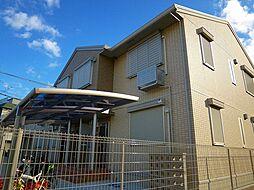 大阪府豊中市旭丘の賃貸アパートの外観