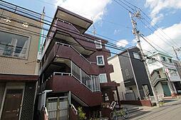 神奈川県川崎市多摩区枡形3丁目の賃貸マンションの外観