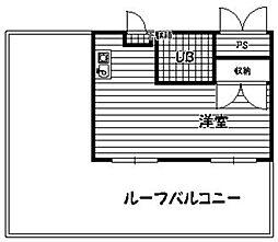 エスポワール井尻[402号室]の間取り