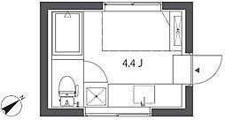 KE266[3階]の間取り