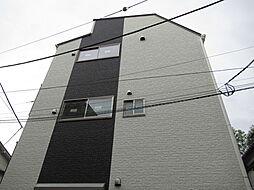 東京都大田区東矢口3丁目の賃貸アパートの外観